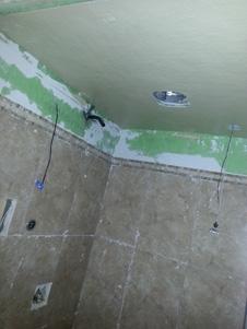 Hardibacker Ceiling
