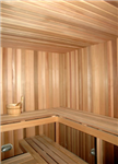 Commercial Sauna with Narrow Benches