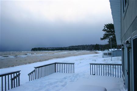 Keiths Sauna View of Lake Superior