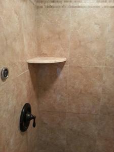 Final Installation of Steam Shower