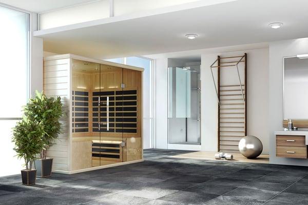 Finnleo's S-Series Infrared Sauna