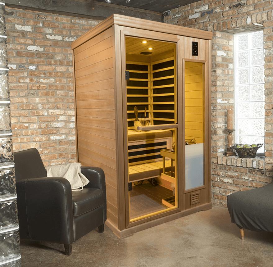 Infrared Saunas: InfraSauna Panel Built by Finnleo