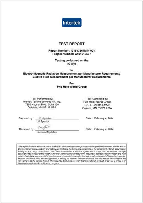 Intertek-Report