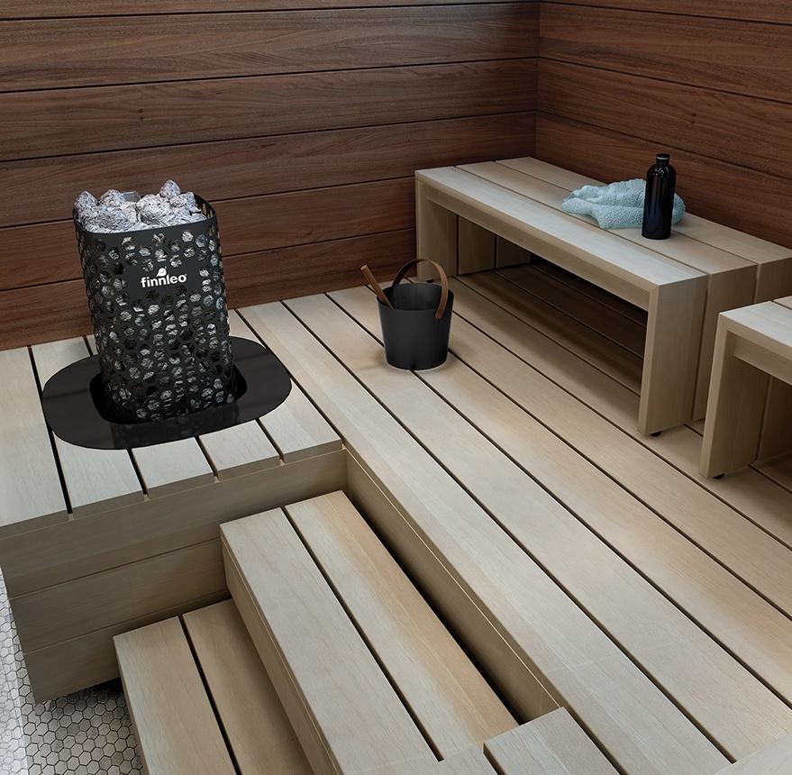 sauna heater blackline