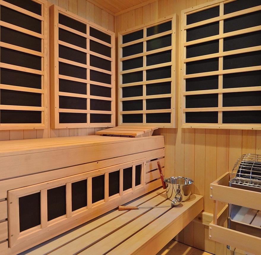 custom infrared sauna