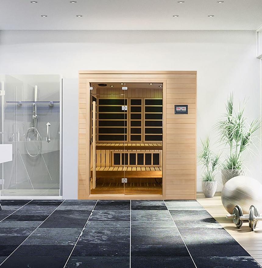 custom starburst sauna