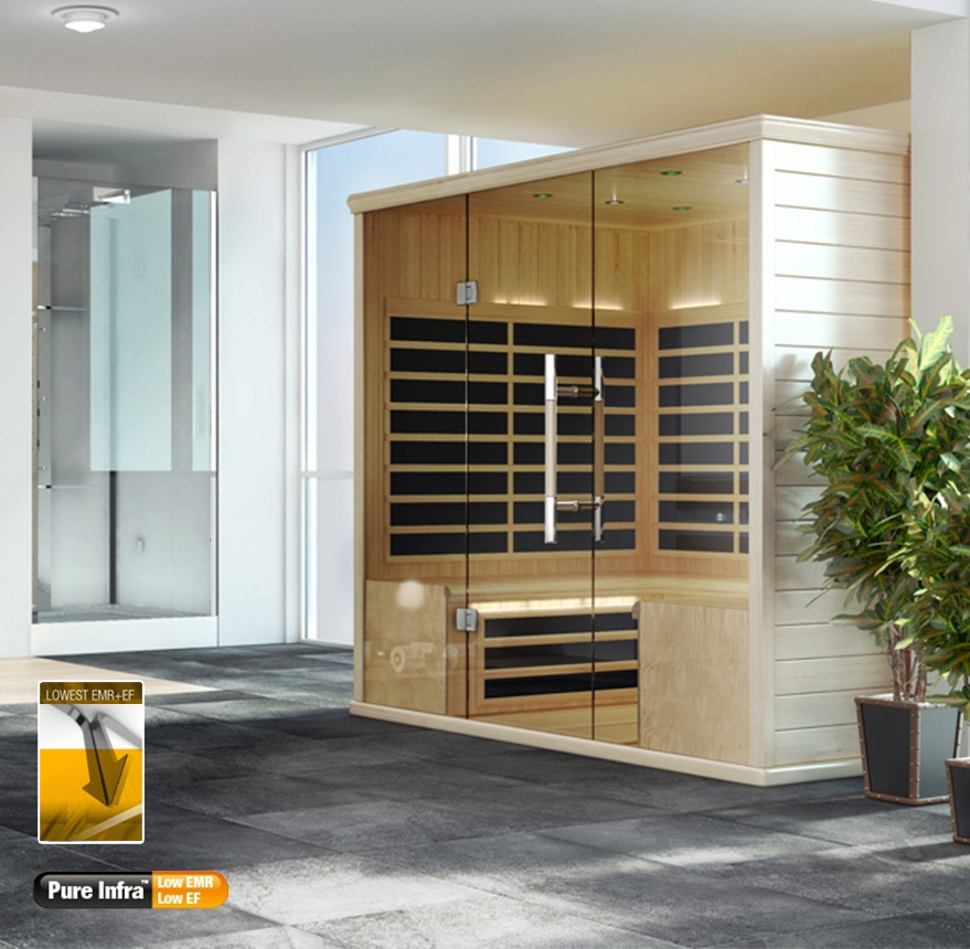 S Series indoor sauna