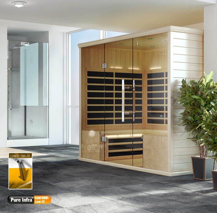 S Series indoor sauna