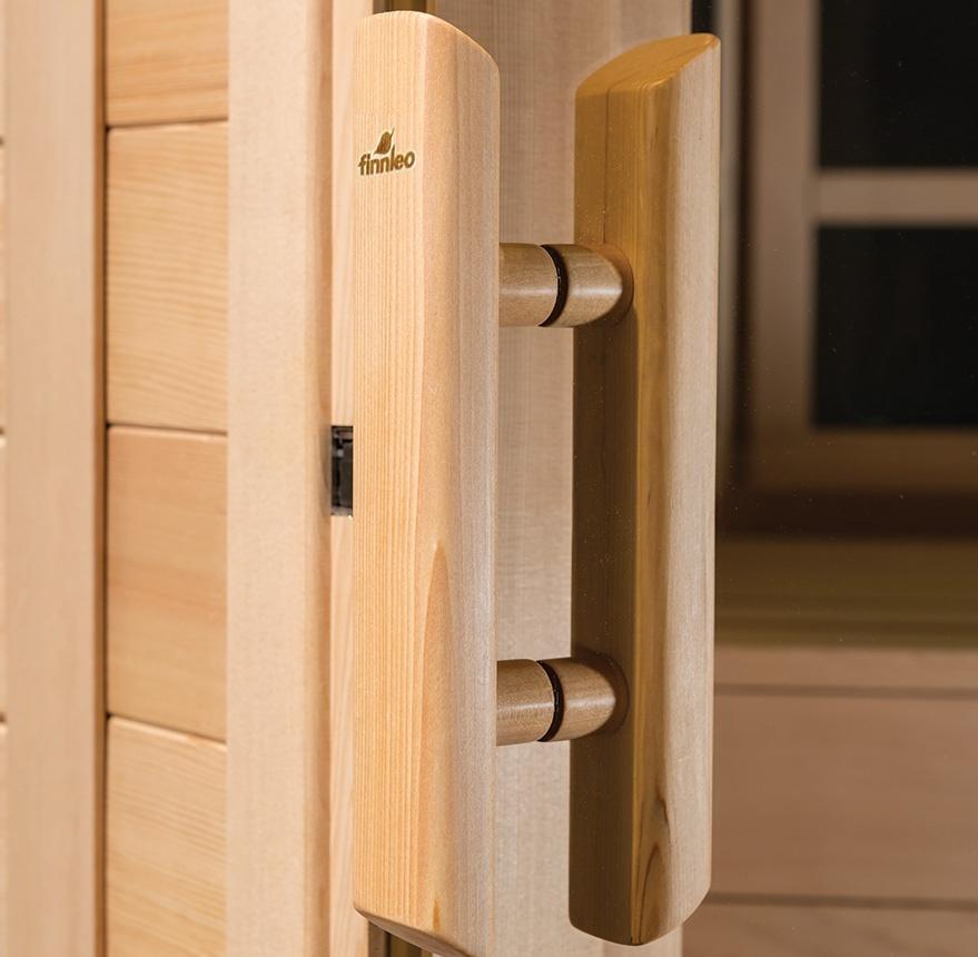 Sauna Doors All Glass Or Wood Styles Finnleo Pure Sauna