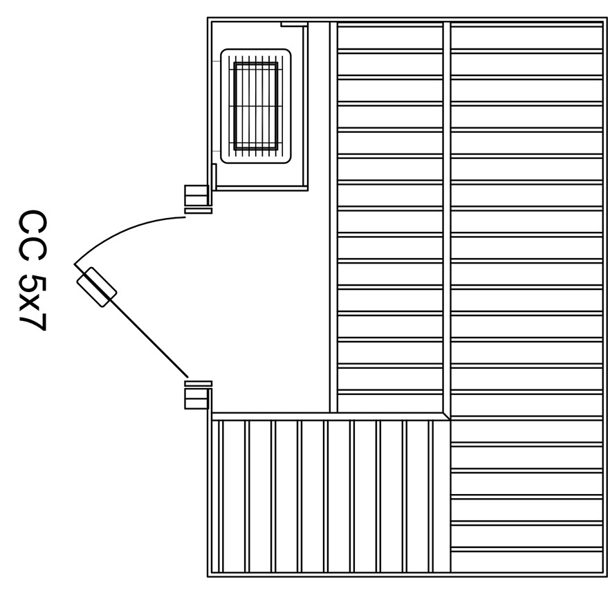 Custom-Cut 5x7