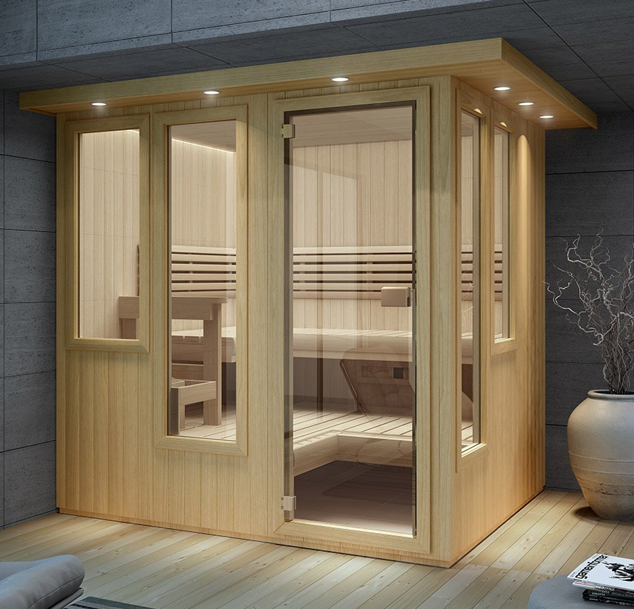 Indoor Sauna Rooms For The Home By Finnleo
