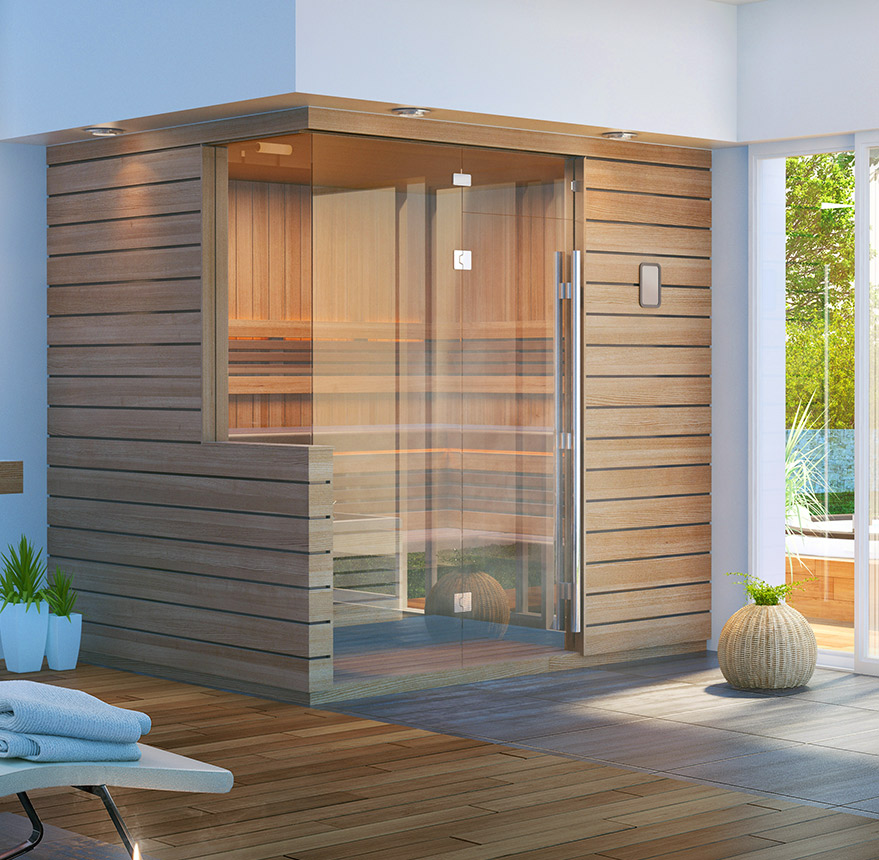 twilight designer sauna