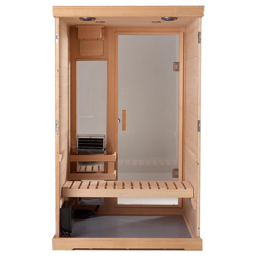 Indoor Sauna Kits Hallmark 44 Finnleo Pure Sauna