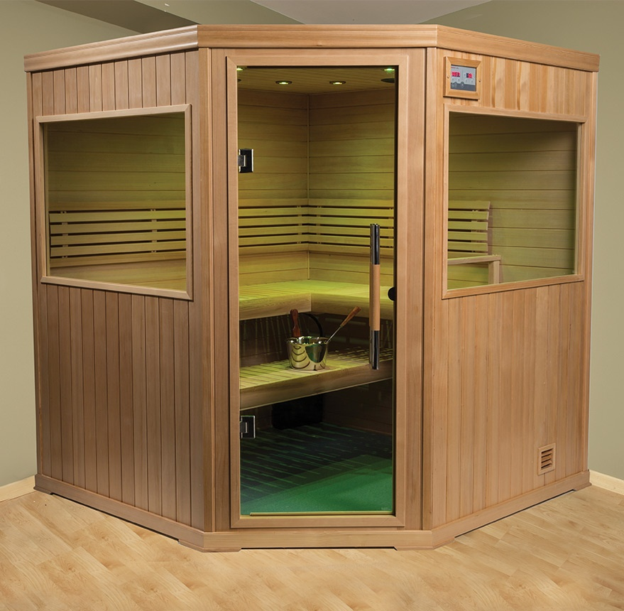 Indoor Sauna Kits: Hallmark 66C | Finnleo - Pure Sauna