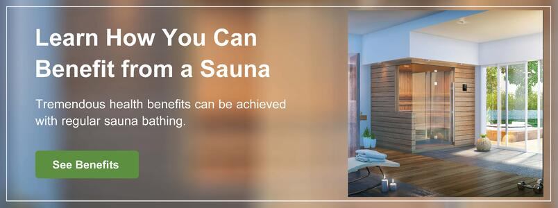 Learn how you can benefit from a sauna.