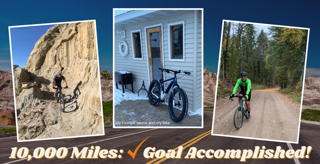 2020 was a great year thanks to a bike, a goal, a pandemic and a sauna featured image