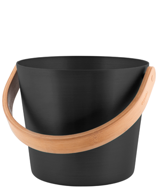 Black Sauna Bucket