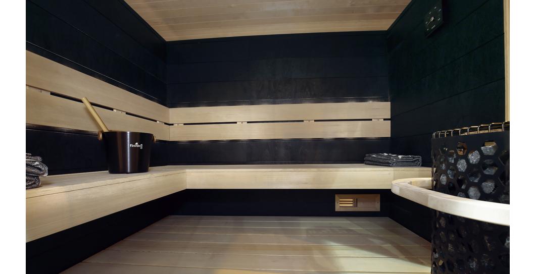 Introducing Black Taika Sauna Paneling: Modern, Nordic Sauna Design featured image