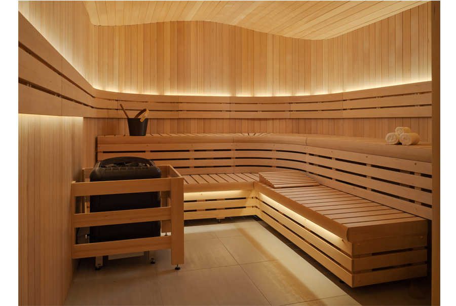 Commercial-sauna-with-wave-ceiling