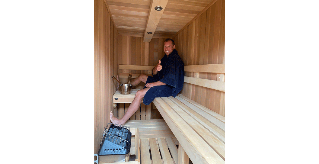 NHL All-Star, Dany Heatley, Uses his Finnleo Sauna for Workout Recovery & Health featured image