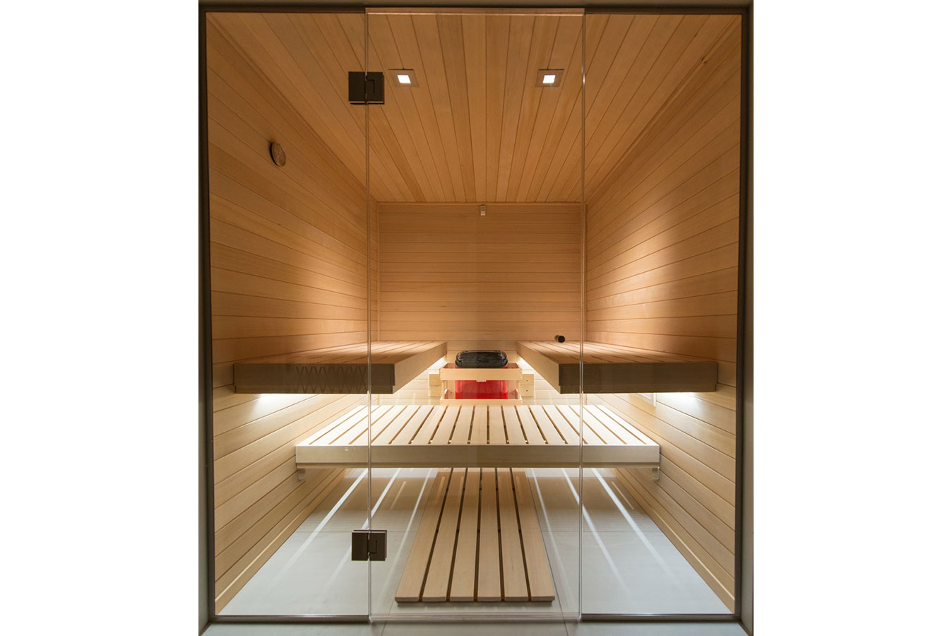 The sauna has become an architectural accent... featured image