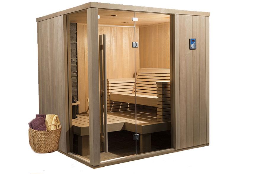 Indoor Traditional Sauna Rooms