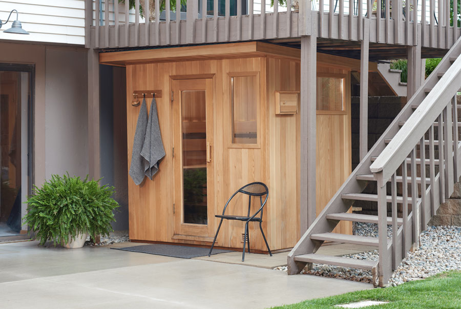 Euro Patio outdoor sauna