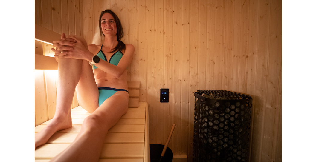 Gold Medal Olympian, Gwen Jorgensen, Uses Her Sauna for Health, Workout Recovery and Family Time featured image