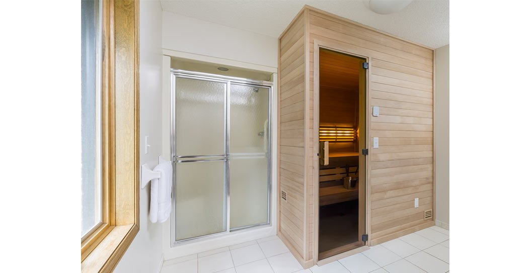 Custom Sauna Replaces Unused Jetted Tub featured image
