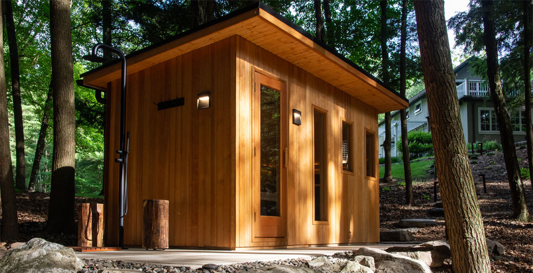 Create Your Own Backyard Oasis with an Outdoor Sauna featured image