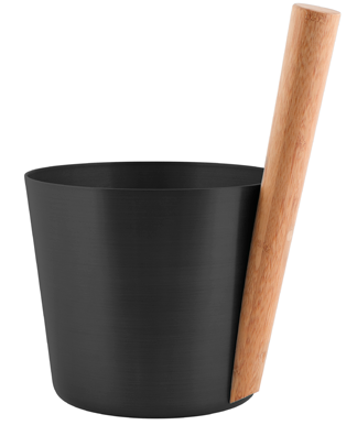 Sauna Bucket - Black