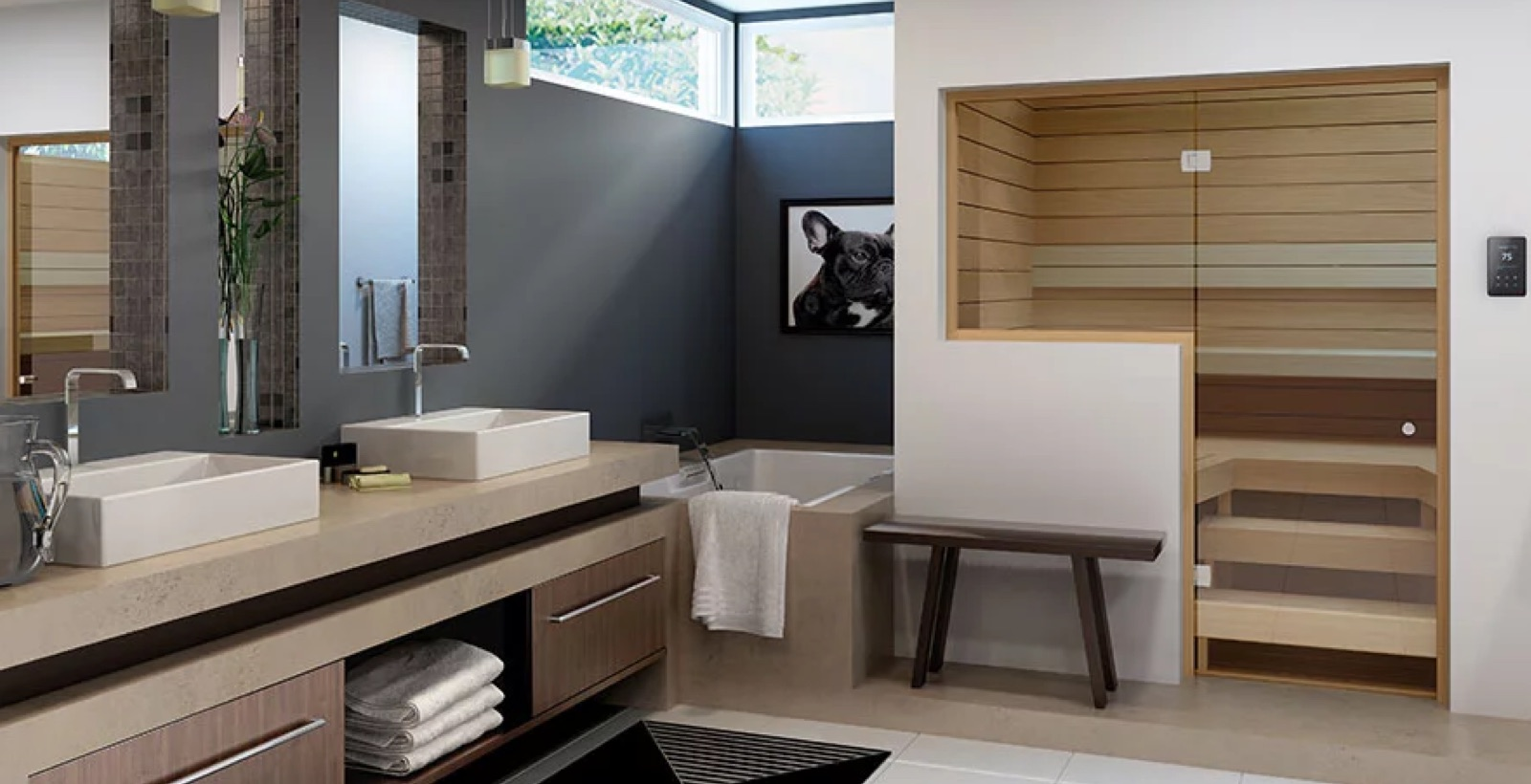 Custom Cut Traditional Indoor Sauna