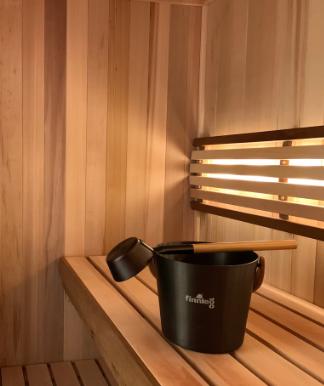 Finnleo Custom-Cut sauna installation video