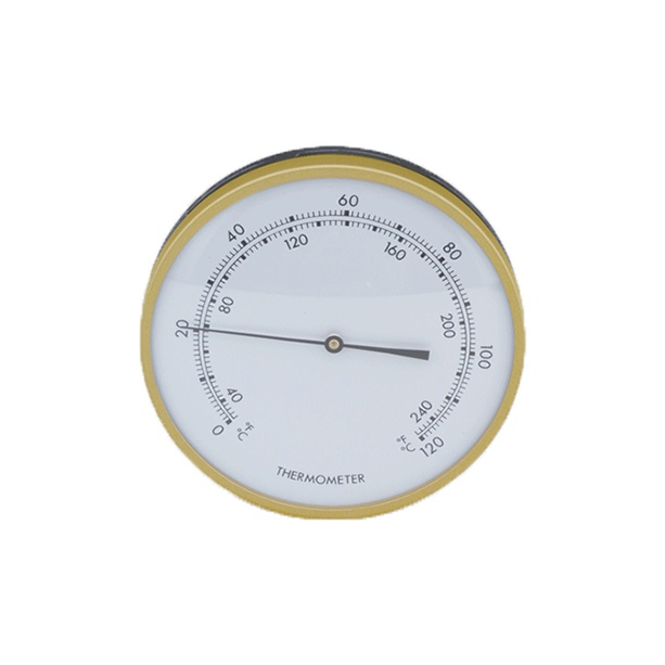 classic 5 inch thermometer brass ring