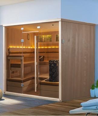 designer deco sauna