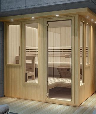 designer mystique sauna
