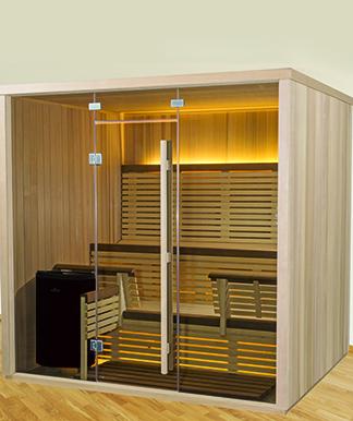 designer serenity sauna