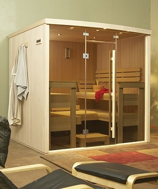 designer solace sauna
