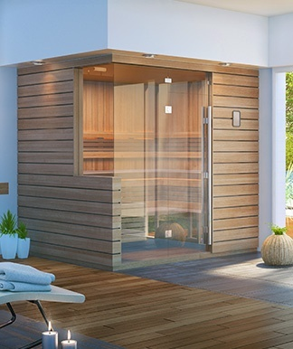 designer twilight sauna