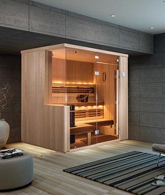 designer vita sauna