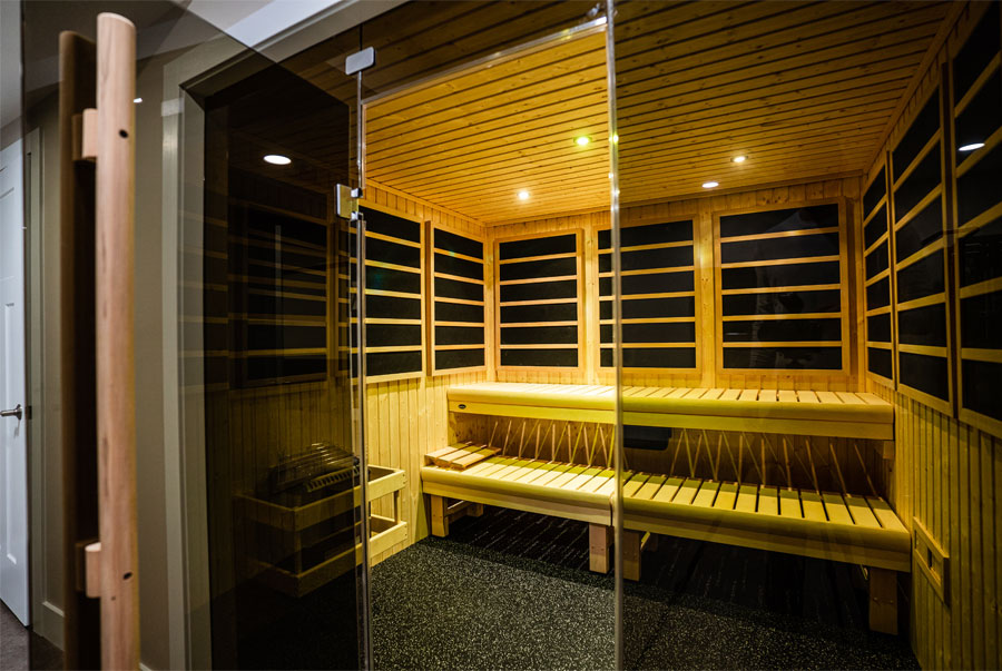 infrasauna for hot yoga